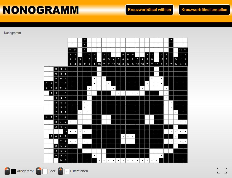 Nonogramm Lösen Online